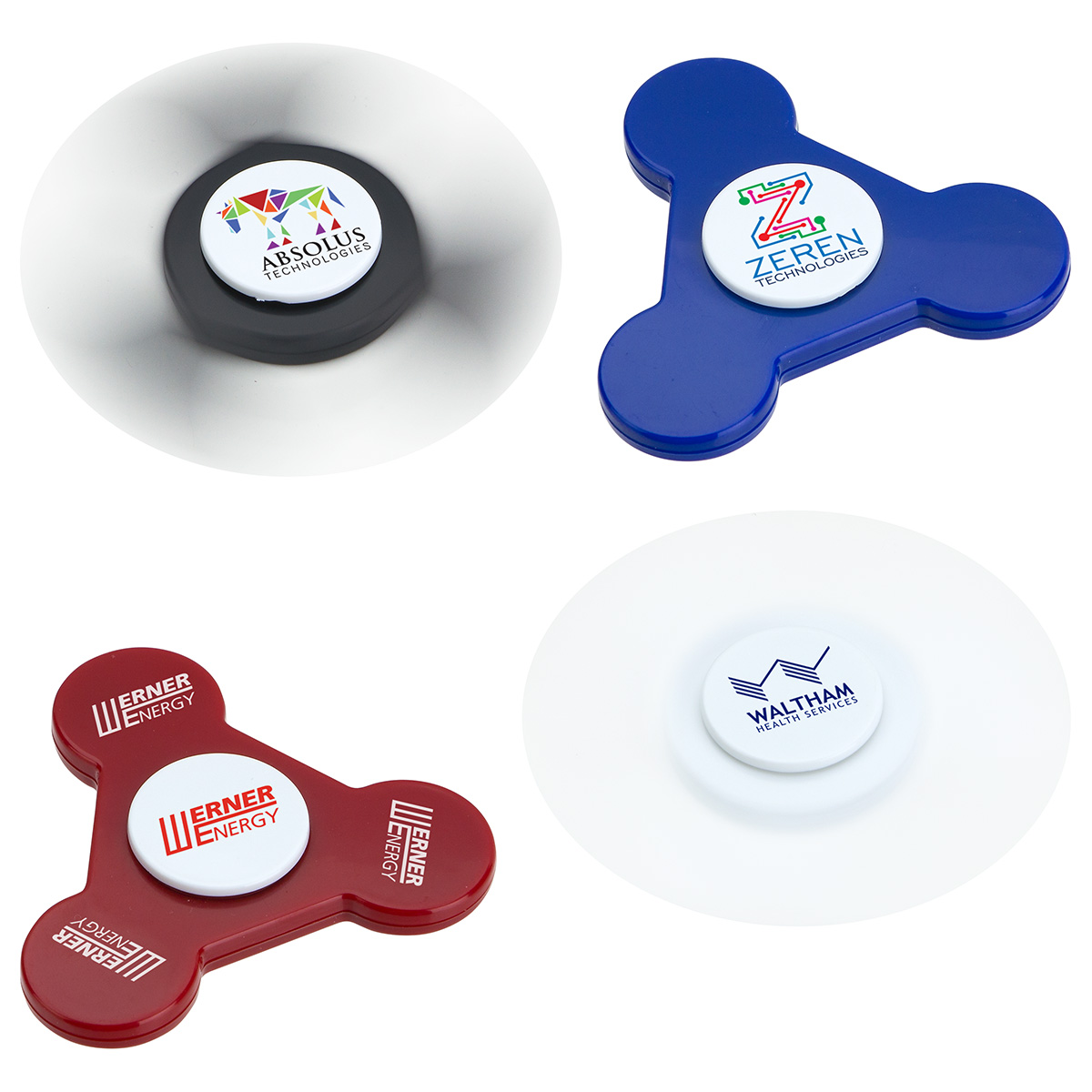 Promo Whirl 2-Minute Spinner, WPC-RW17 - 1 Colour Imprint