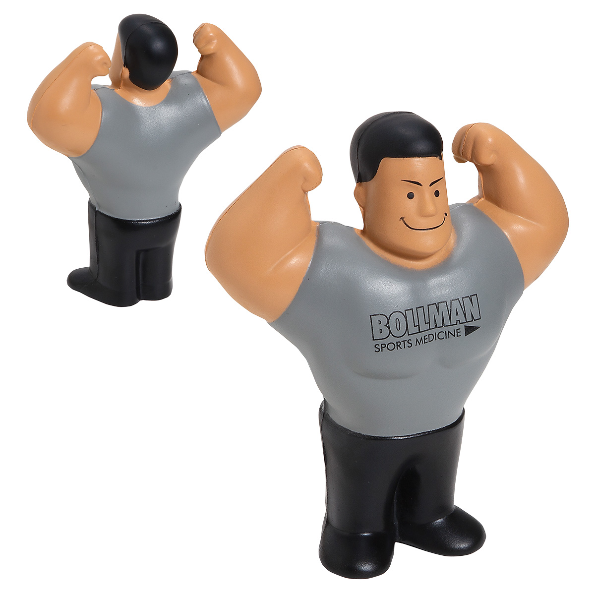 Muscle Man Stress Reliever, LSP-MM01, 1 Colour Imprint