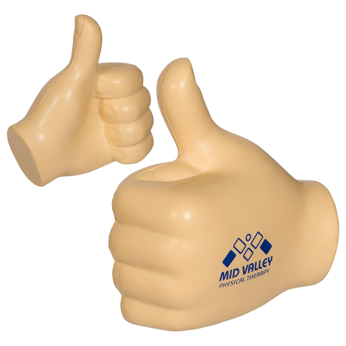 Hand Thumbs Up Stress Reliever, LAN-HT23 - 1 Colour Imprint