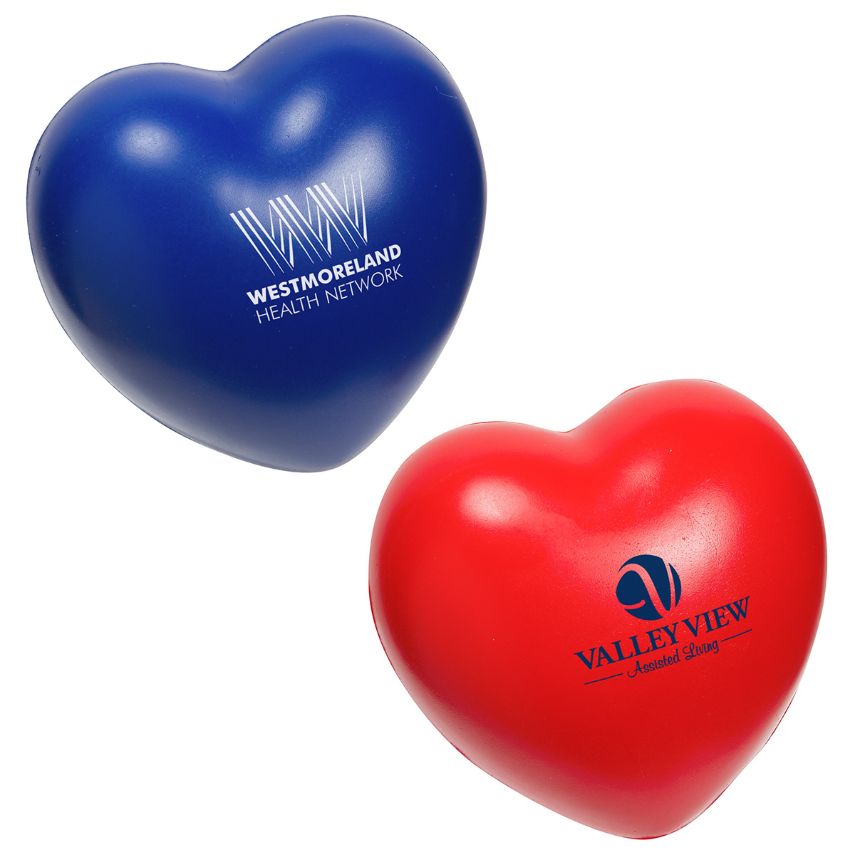 Heart Slo-Release Serenity Squishy(TM), LGS-HS18, 1 Colour Imprint