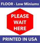 Floor Decal CUSTOM size Removable, Repositionable