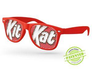Retro Pinhole Sunglasses