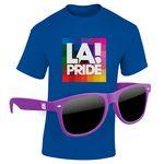 KIT: Full-Color DTG T-Shirt (Dark/Colors) & Sunglasses