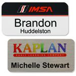 Custom Athena Aluminum Metal Personalized Name Badge (1.5