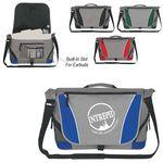 Custom Messenger Bag with Buckle Closure