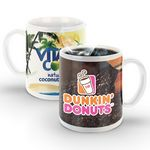 Custom SimpliColor 11 oz. Ceramic Mug (Digital Full Color Wrap)