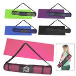 Custom Yoga Mat And Carrying Case