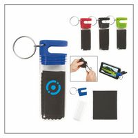 Cleaning Cloth And Phone Stand Combo With Key Tag