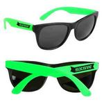 Neon Green Retro Custom Sunglasses