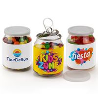 Pop Top Candy Jar