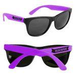 Neon Purple Retro Custom Sunglasses