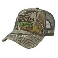 Trendy Heavy Washed Camo Cap