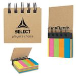 Custom Spiral Book With Sticky Notes And Flags