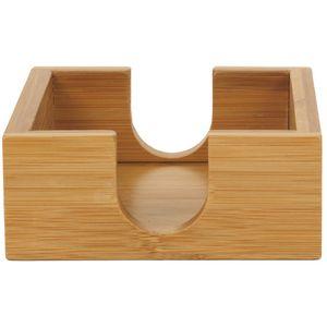 Custom 4 X 4 Bamboo Coaster Holder Only