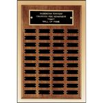 Custom Walnut Perpetual Plaque 13x20