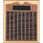 Custom Walnut Perpetual Plaque 20x30 150 Plates