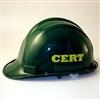 Custom C.E.R.T. Hard Hat