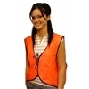 Custom Orange Economy Safety Vest