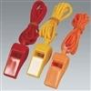 Custom Plastic Whistle w/ Lanyard