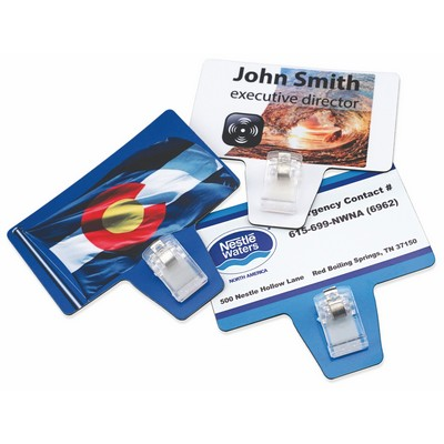 Romano promo promotional products apparel hammond la magnetic business card with clip reheart Images