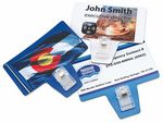 Custom Magnetic Business Card with Clip