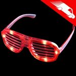 LED Shutter Shades Red