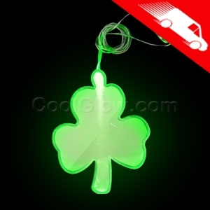 Custom Made St. Patrick's Day Holiday Lighted Pendants!