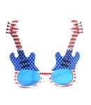 Patriotic Guitar Shutter Sunglasses