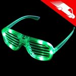 LED Shutter Shades Green