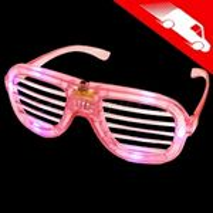 LED Shutter Shades Pink