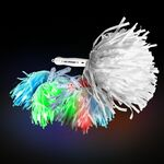 CoolGlow Light Up LED Pom Poms - Multicolor