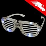 LED Shutter Shades White