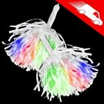 LED Pom Poms Multicolor