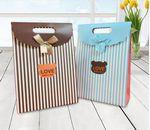 Custom Full Color Printed Paper Boxes Shaped as Bags