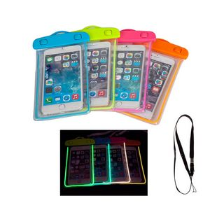 2c0ba162698c Luminous PVC Waterproof Phone Pouch - YORKN05435 - IdeaStage Promotional  Products