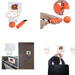 Custom Mini Basketball Hoop Set w/Ball and Pump