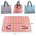 Custom Outdoor Picnic Mat and Bag Combination
