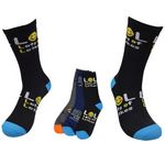 Big Size Knitted Cotton High Sport Socks