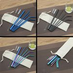 Custom Colorful Stainless Straws