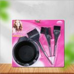 Hair Color Brushes And Bowl