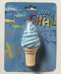 Ice Cream Cone Sidewalk Chalk