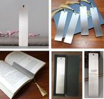 Metal Bookmarks With Tassels