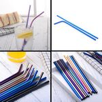 Custom Metal Straws For Cold Beverage