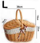 Wicker Basket - L