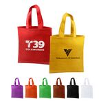 Custom Non Woven Poly Pro Shopper Grocery Tote Bag