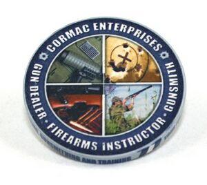 Military Unit Coin - Ceramic - (46 Mm)
