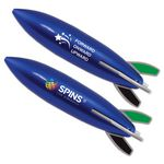 Custom Blue Rocket Pen