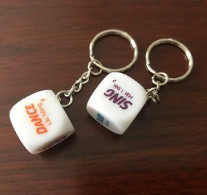 Custom Printed Die Key Rings