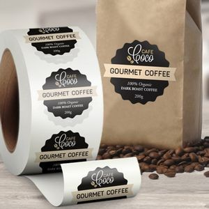 "Custom Paper Roll Labels (1""x1"")"