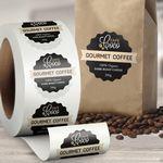 Custom Custom Paper Roll Labels (1
